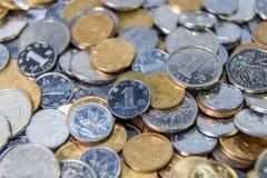 Pièces de monnaie chinoises de RMB Image stock