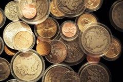 Pièces de monnaie collectables précieuses Photographie stock