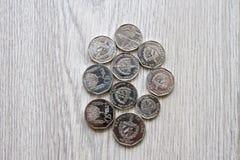 Pièces de monnaie cubaines Photographie stock
