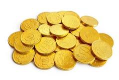 Pièces de monnaie d'or Photos libres de droits
