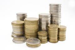 pièces de monnaie d'Argentins Images libres de droits