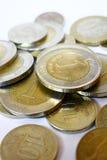 Pièces de monnaie de Lire de Trukish Image libre de droits