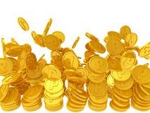 Pièces de monnaie de point Images stock