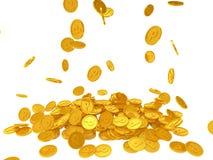 Pièces de monnaie de point Photographie stock libre de droits