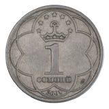 Pièces de monnaie de Somoni Image libre de droits