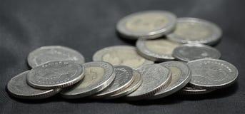 Pièces de monnaie de THB Photographie stock