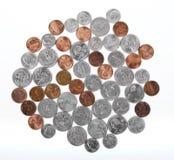Pièces de monnaie des Etats-Unis photographie stock libre de droits