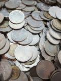 Pièces de monnaie du dollar de Hong Kong Image stock