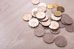 Pièces de monnaie du dollar de Hong Kong Image libre de droits