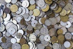 Pièces de monnaie grecques Photographie stock libre de droits