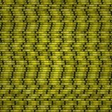 Pièces de monnaie jaunes de texture Illustration de Vecteur