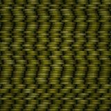 Pièces de monnaie jaunes de texture Illustration Libre de Droits