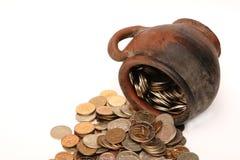 Pièces de monnaie mystérieuses Images stock