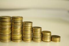 Pièces de monnaie russes Photos stock