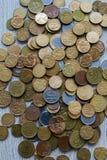 Pièces de monnaie sud-américaines Photographie stock libre de droits