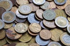 Pièces de monnaie sud-américaines Image libre de droits