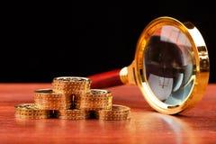 Concept d'argent Photo stock