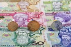 Pièces de monnaie de tenge du Turkménistan