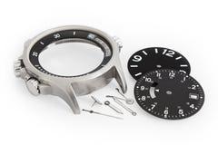 Pièces de montre photographie stock