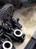 Pièces de moteur Photos stock
