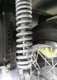 Pièces de motocyclette, fond de technologie Photographie stock libre de droits