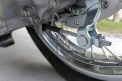 Pièces de motocyclette, fond de technologie Image libre de droits