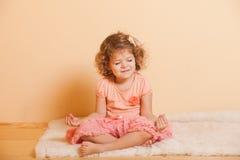 Pièces de petite fille Image stock