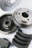 Pièces de rechange de circuit de freinage de véhicule Images libres de droits