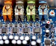 Pièces de technologie Images stock