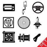 Pièces de véhicule Image stock