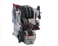 Pièces de véhicule : cas de transfert actif Photo stock