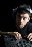 pièces du DJ i réglées Images libres de droits