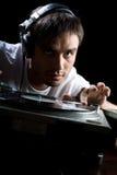 pièces du DJ réglées Image libre de droits
