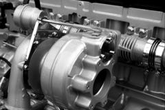 Pièces et composants de moteur Photo stock