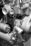 Pièces et composants de moteur images stock