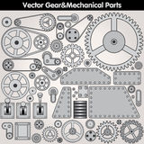 Pièces et vitesses mécaniques Kit de vecteur