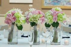 Pièces maîtresses de bouquet de mariage Photo libre de droits