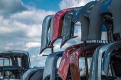Pièces utilisées par vente pour des voitures Photographie stock libre de droits