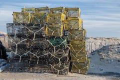Pièges 7976 de homard Photographie stock libre de droits