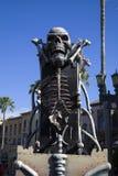 Piédestal squelettique aux studios universels Orlando Flori de Rodeo Drive Images libres de droits