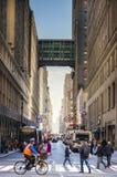 Piétons de New York City photos stock