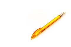 pióra kolor żółty Zdjęcie Stock
