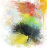 Piórko abstrakta tło Obraz Stock