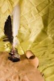 piórkowy atramentu dutki well Zdjęcie Stock