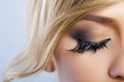 piórkowy makeup fotografia royalty free