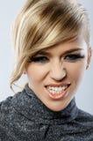 piórkowy makeup Fotografia Stock