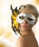 piórkowy maskowy jaśnienie Obrazy Stock