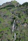 Più alta cascata in Allgau in valle del nearbei Oberstdor di Oytal Immagine Stock Libera da Diritti