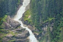 Più alta cascata di Europa Natura non rovinata fotografie stock libere da diritti