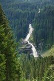 Più alta cascata di Europa Natura non rovinata immagini stock